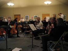 Warming up at Congregation Beth Shalom